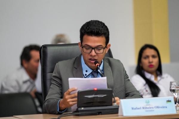 IRafael Ribeiro propõe construção de campos de futebol soçaite e revitalização de área pública
